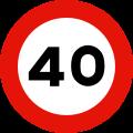 velocidad40