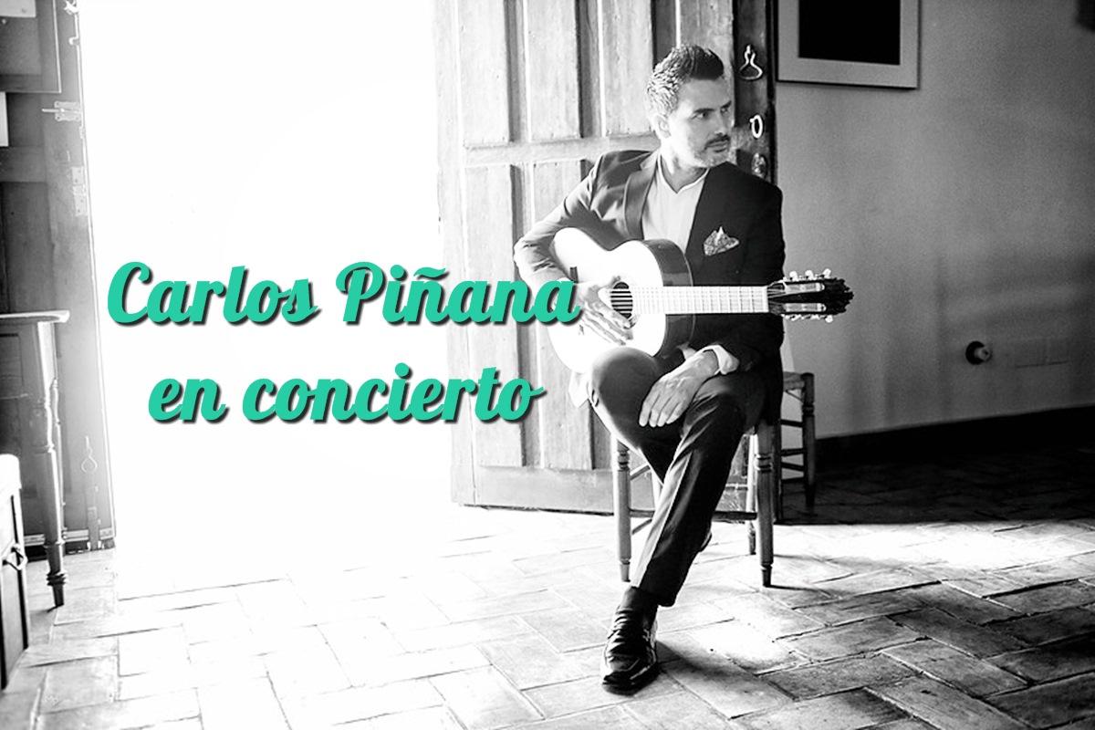 Carlos Piñana en Concierto