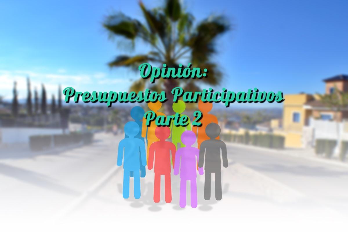Presupuestos Participativos Molina de Segura Parte 2