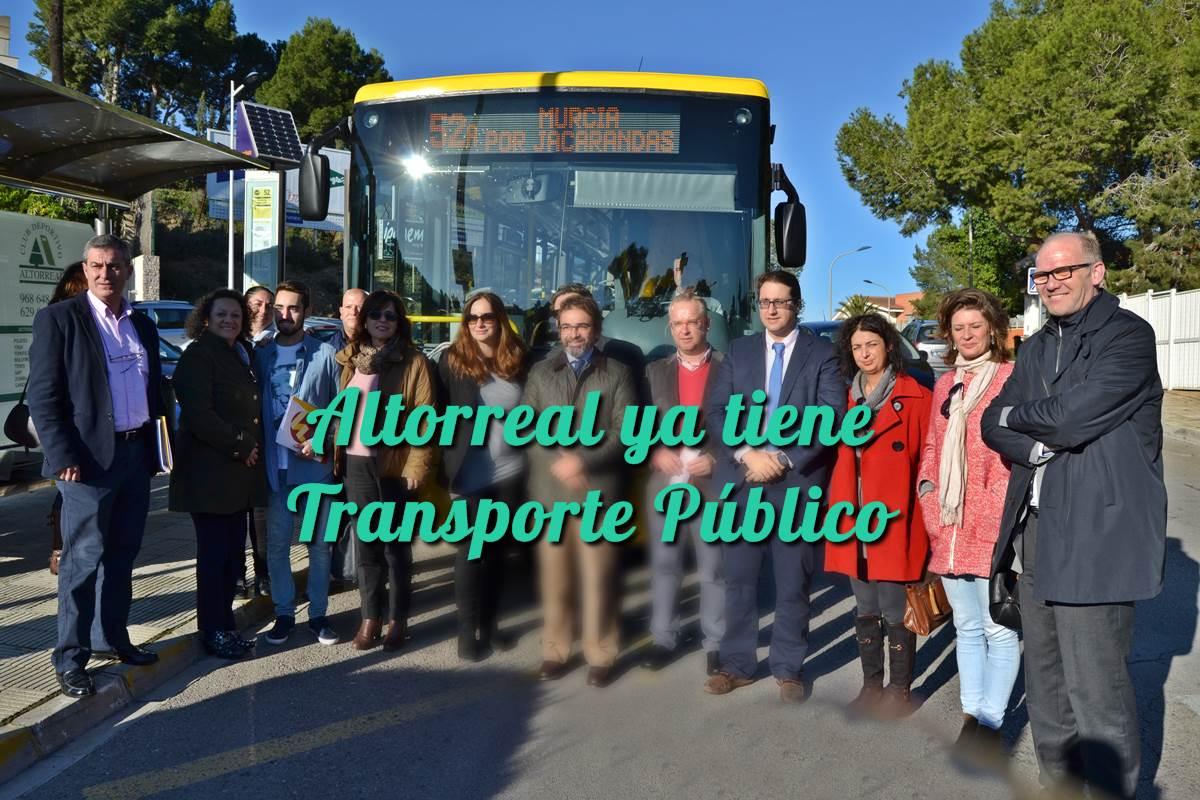 Altorreal ya tiene Bus Público