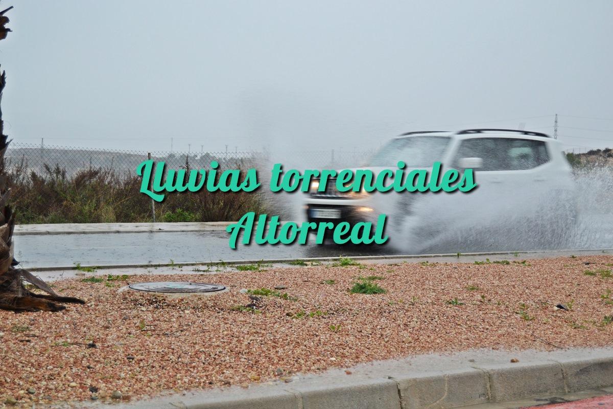 Lluvias torrenciales en Altorreal