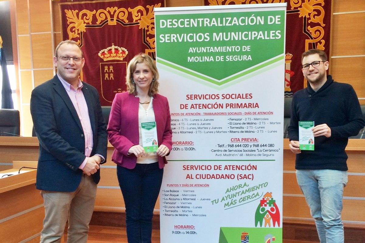 El Plan de Descentralización de Servicios Municipales llega a Altorreal y La Alcayna