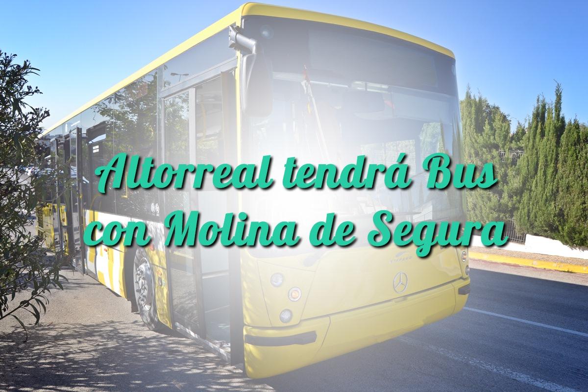 Altorreal tendrá Bus con Molina de Segura