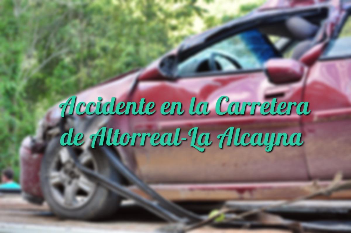 Accidente en la Carretera de Altorreal-La Alcayna