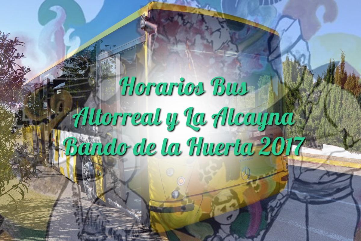 Horarios Bus Bando de la Huerta