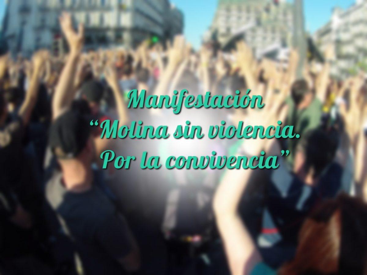 """Manifestación """"Molina sin violencia. Por la convivencia"""""""