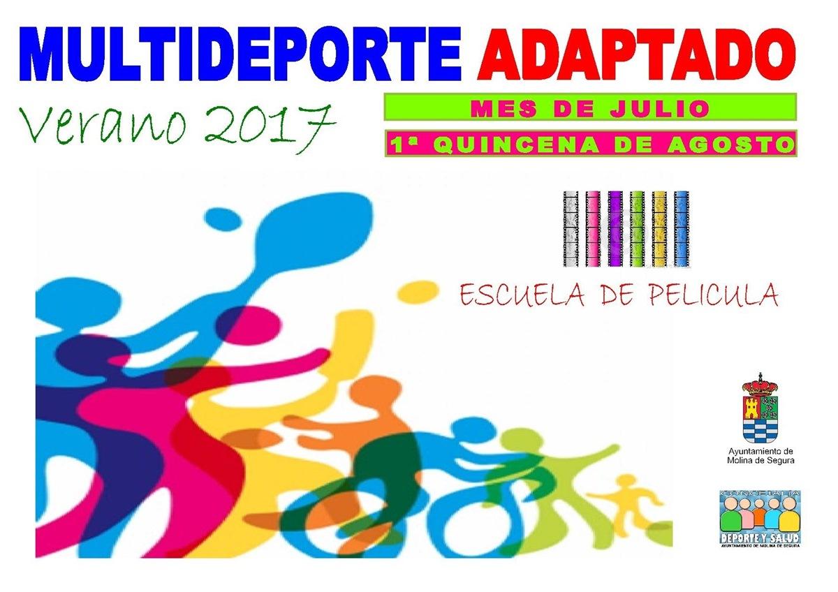 Programa Multideporte Adaptado 2017