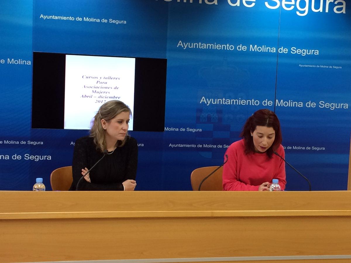 Talleres y Ponencias para Asociaciones de Mujeres de Molina de Segura