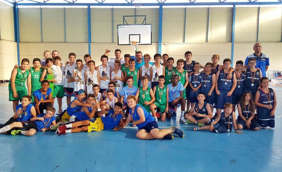 El alevín del Molina Basket gana el Torneo Minibasket Interautonómico