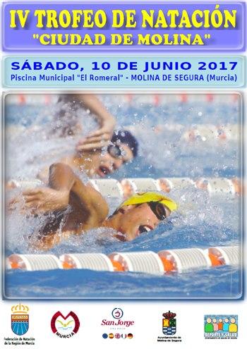 Iv trofeo de nataci n ciudad de molina vivo en altorreal for Piscina municipal molina de segura