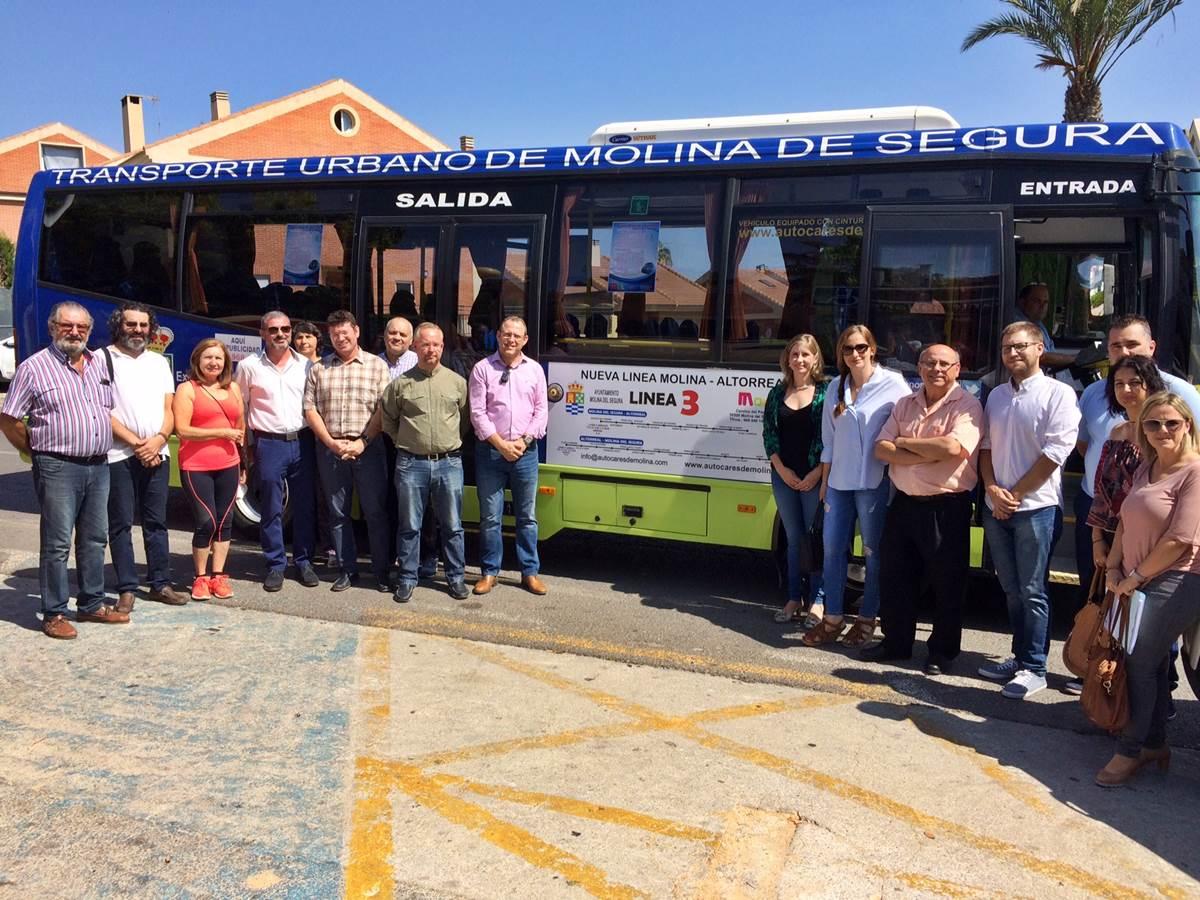 Altorreal ya tiene Bus con Molina de Segura