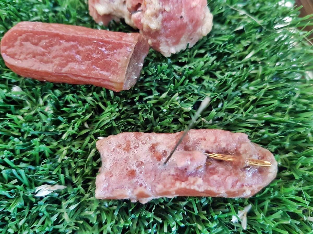 Alerta perros junto a Altorreal: comida con agujas
