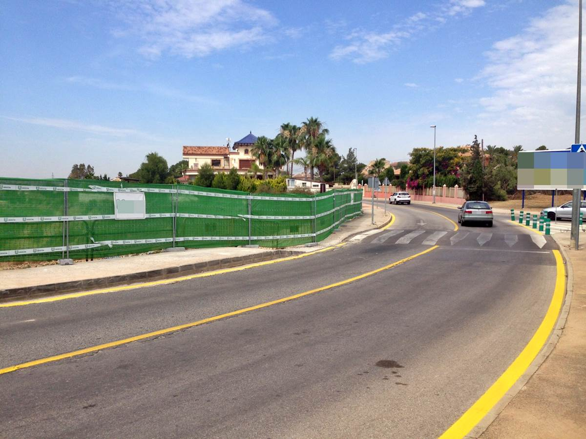 Arrancan las obras en la entrada de Altorreal