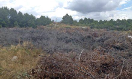El Club de Golf Altorreal sigue sin poner solución al riesgo de incendio