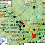 Un terremoto despierta a Altorreal y Molina de Segura