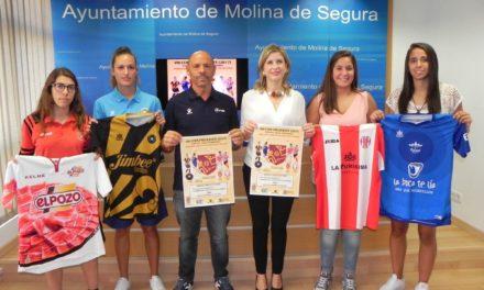 La élite del Fútbol Sala Femenino se da cita este viernes y sábado en Molina de Segura