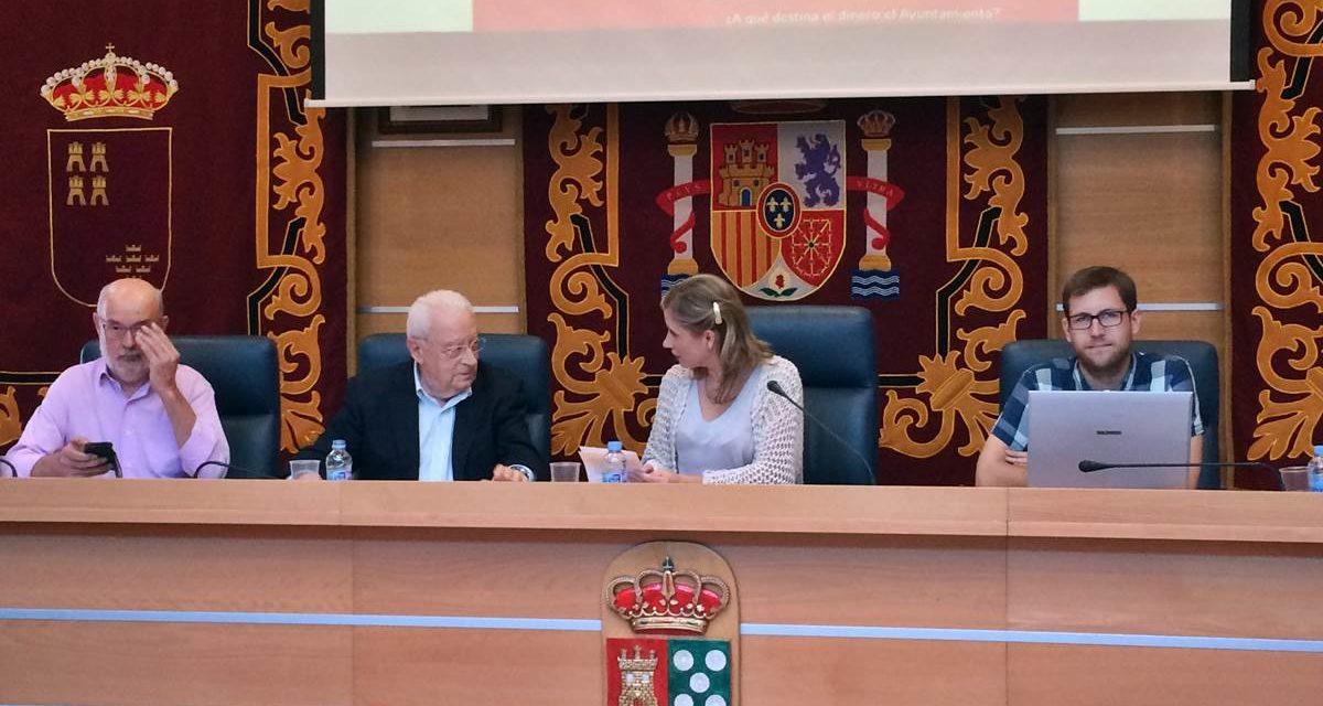 El Ayuntamiento presenta el Portal Web de los Presupuestos
