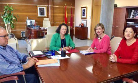 Molina le pide a la CARM más inversiones