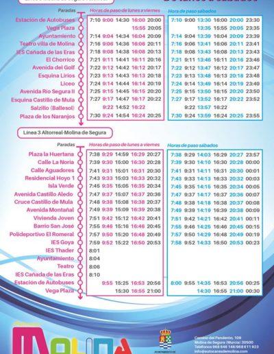 horarios autobuses altorreal molina de segura 1