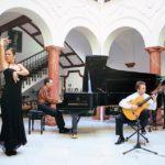 Guitarra, piano y baile