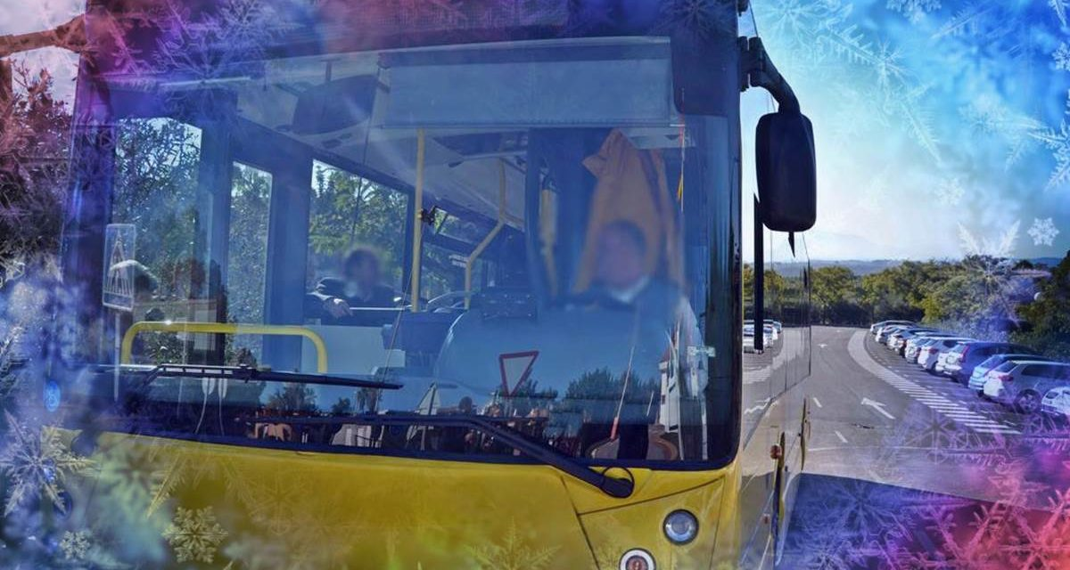 Servicios especiales de Bus en Navidad
