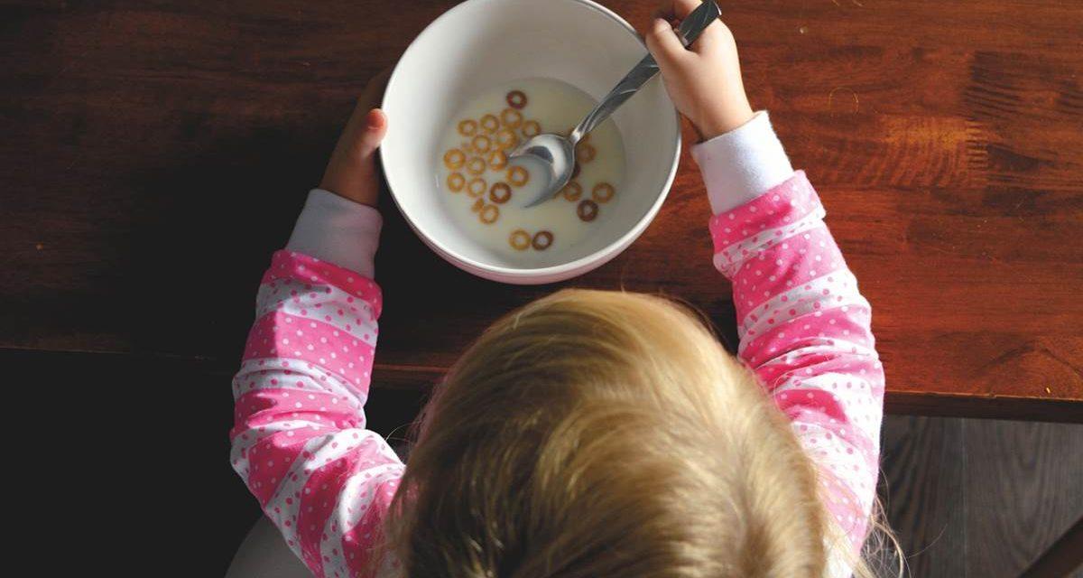 Educación en cocina y alimentación saludable con niños