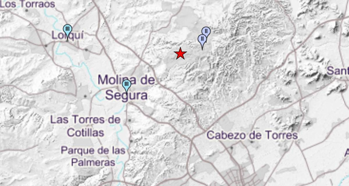 Terremoto en Altorreal de 3,0