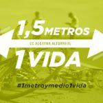 El Club Ciclista La Alcayna – Altorreal  pone en marcha #1metroymedio1vida