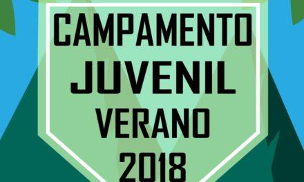 Arranca plazo de inscripción en el Campamento Juvenil Verano 2018