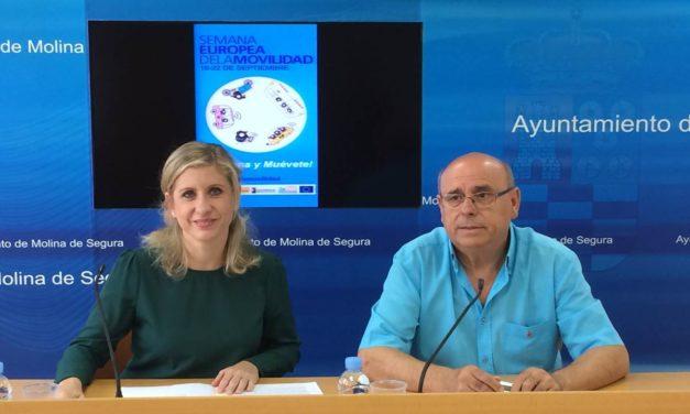Molina de Segura celebra un año más la Semana Europea de la Movilidad