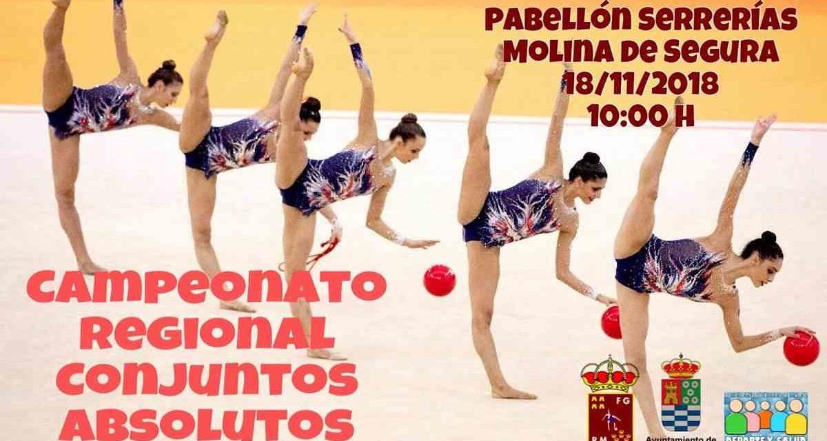 Campeonato Regional de Conjuntos Absolutos de Gimnasia Rítmica 2018