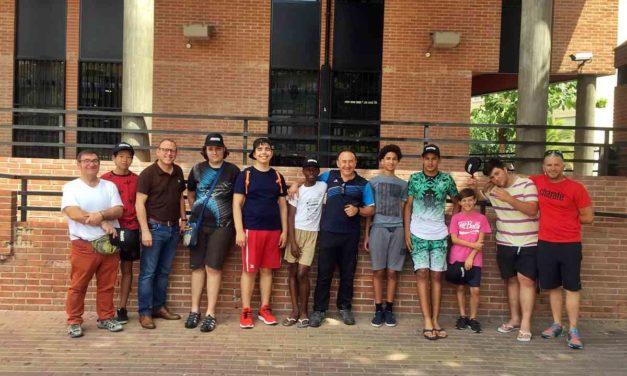 Ocho menores del Servicio participan en un campamento de verano