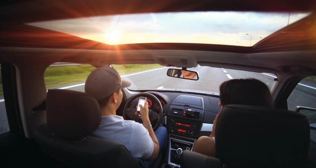 Objetivo: sin móvil al volante