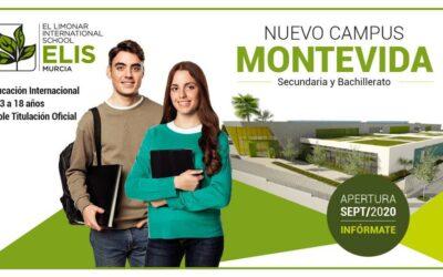 El nuevo y vanguardista campus del colegio internacional británico ELIS Murcia en la urbanización Montevida abrirá sus puertas en septiembre de 2020