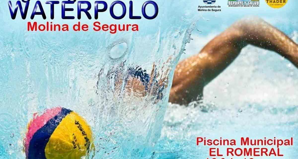 El Club Waterpolo Thader jugará sus partidos de la Liga Regional en Molina de Segura