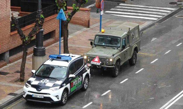 El ejército llega a Molina de Segura