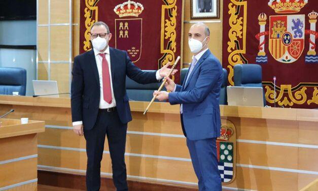 Eliseo García Cantó ya es el nuevo Alcalde de Molina de Segura